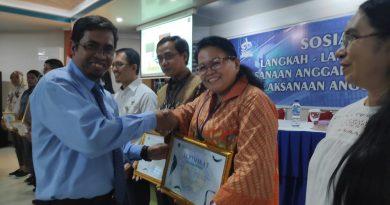 KPPN Ambon Beri Penghargaan Sebagai Satuan Kerja Terbaik Ketiga Kepada Perwakilan BKKBN Maluku