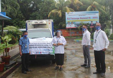 BKKBN Maluku Kembali Salurkan Bantuan Sembako Covid-19 Bagi Akseptor KB